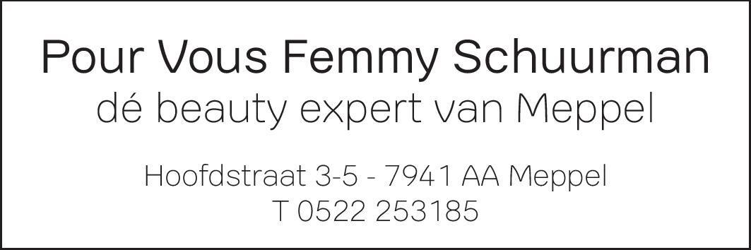 Schoonheidssalon Parfumerie Femmy Schuurman